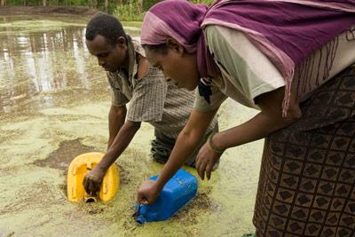 بیماریهای ناشی از آب آلوده